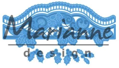 Christmas Border -Marianne Design CreaTables