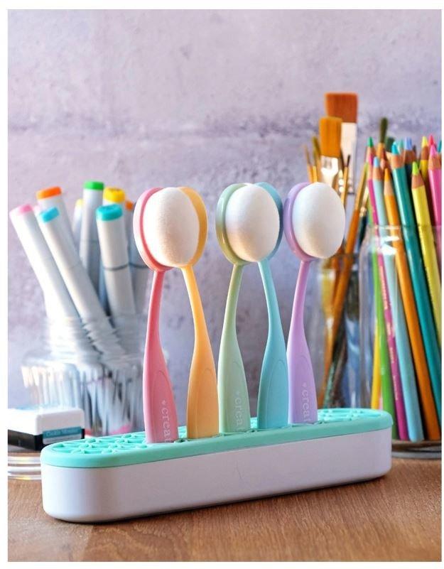 Blender brush set - pastel