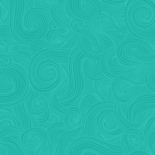 Just Color Swirl - Teal