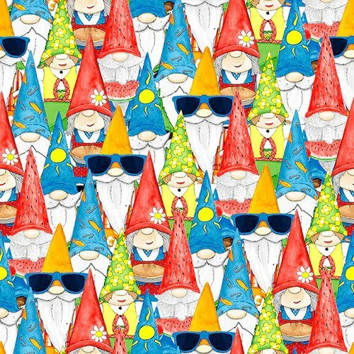 HANGIN WITH MY GNOMES - GNOME COLLAGE