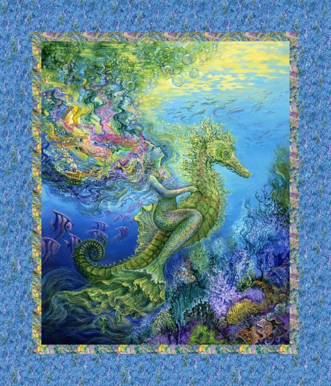 MYSTIC OCEAN - MERMAID PANEL