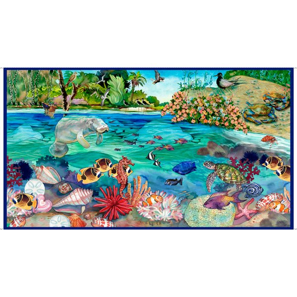 THIS N THAT - MANATEE PANEL BLUE