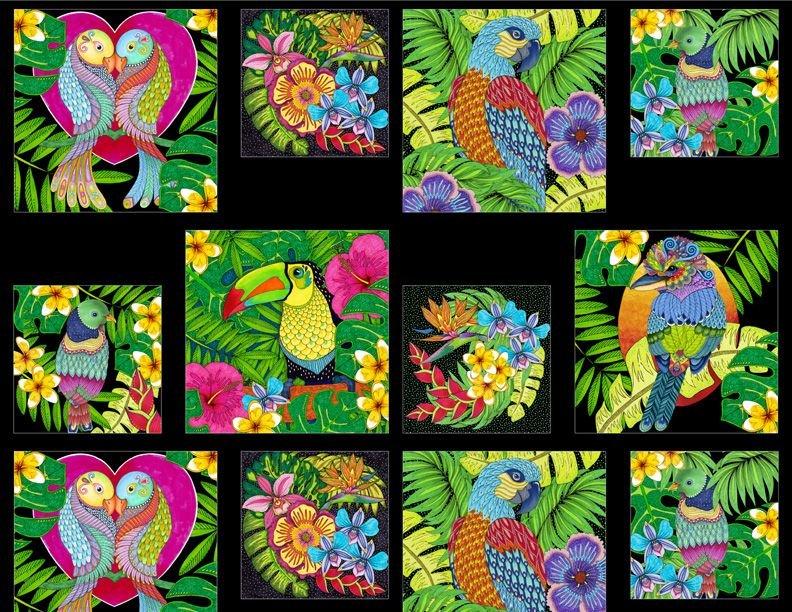 Tropical Flair - Crafty Panel