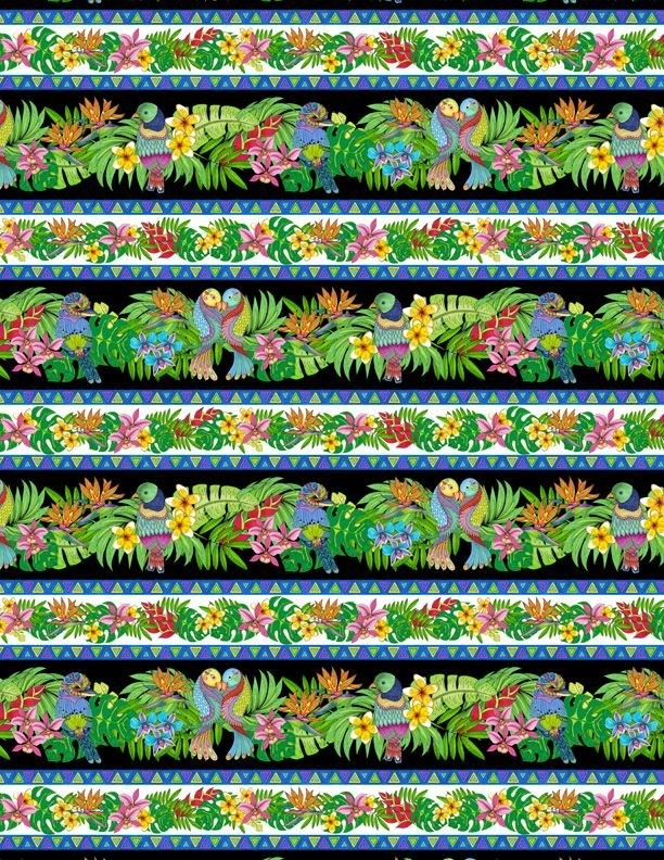 Tropical Flair - Stripe Multi