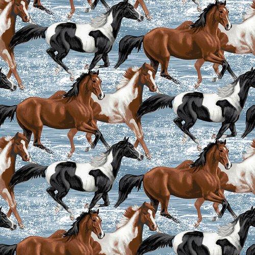 RUNNING FREE - RUNNING HORSES