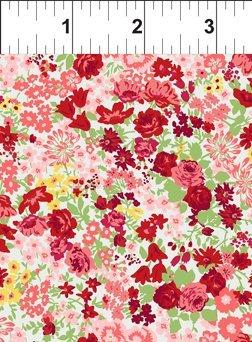 Garden Delights II - Roses, Red