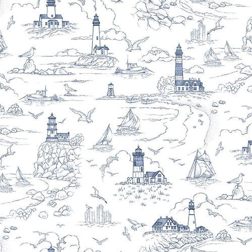Lighthouse Sketch - White