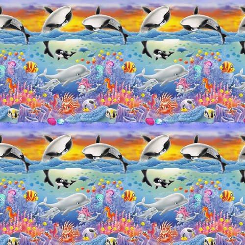 SEA WORLD - CORAL AND FISH