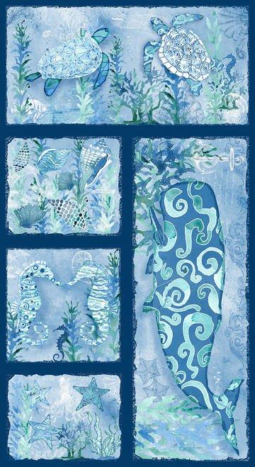 Sea Glass Panel