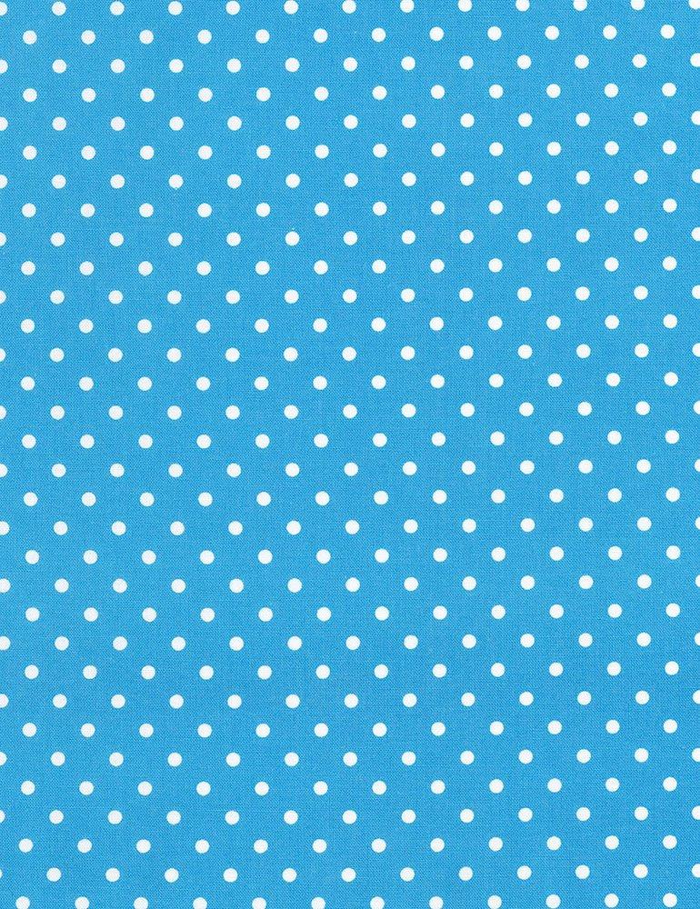 Polka Dot Basic - Cerulean