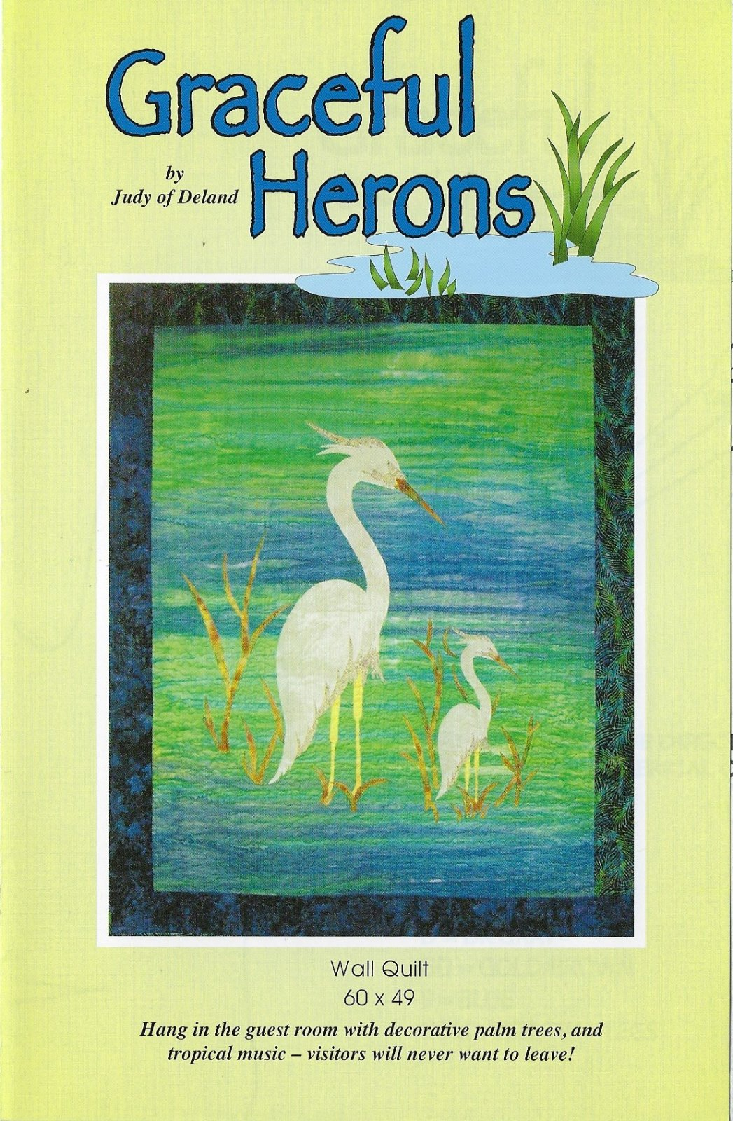 Graceful Herons Pattern by Judy of Deland