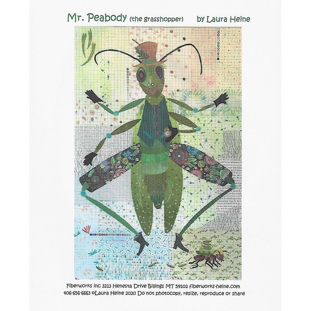 Mr Peabody by Laura Heine