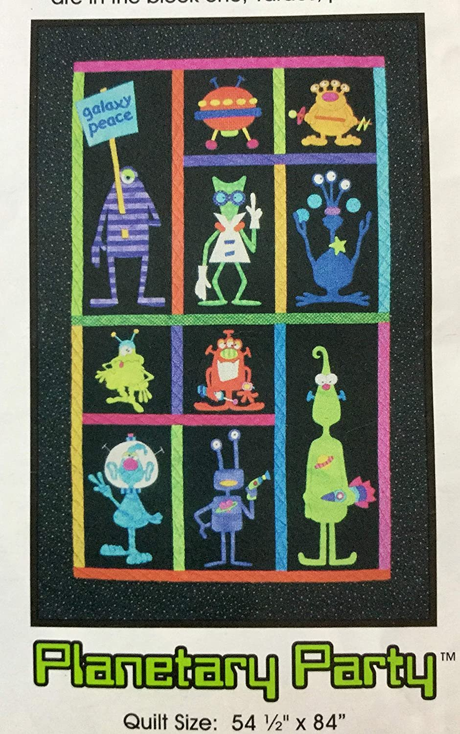 Planetary Party - Complete Set of Patterns - Amy Bradley Designs