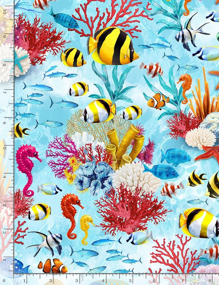 UNDER THE SEA CREATURES