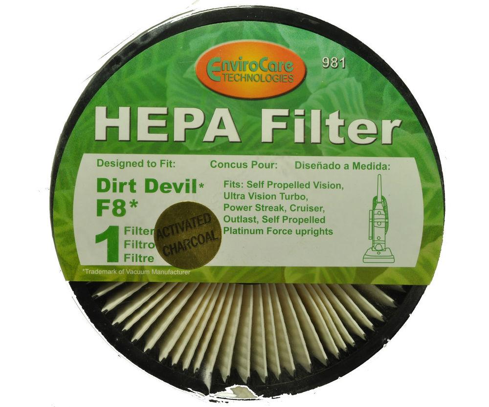 Dirt Devil F8 Hepa Filter