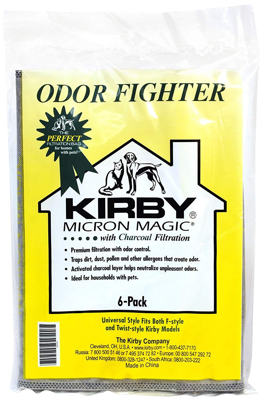 Kirby 6 Pk Charcoal Bags