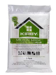 Kirby 6 Pk Hepa Green Plus Universal Style Bag 204814
