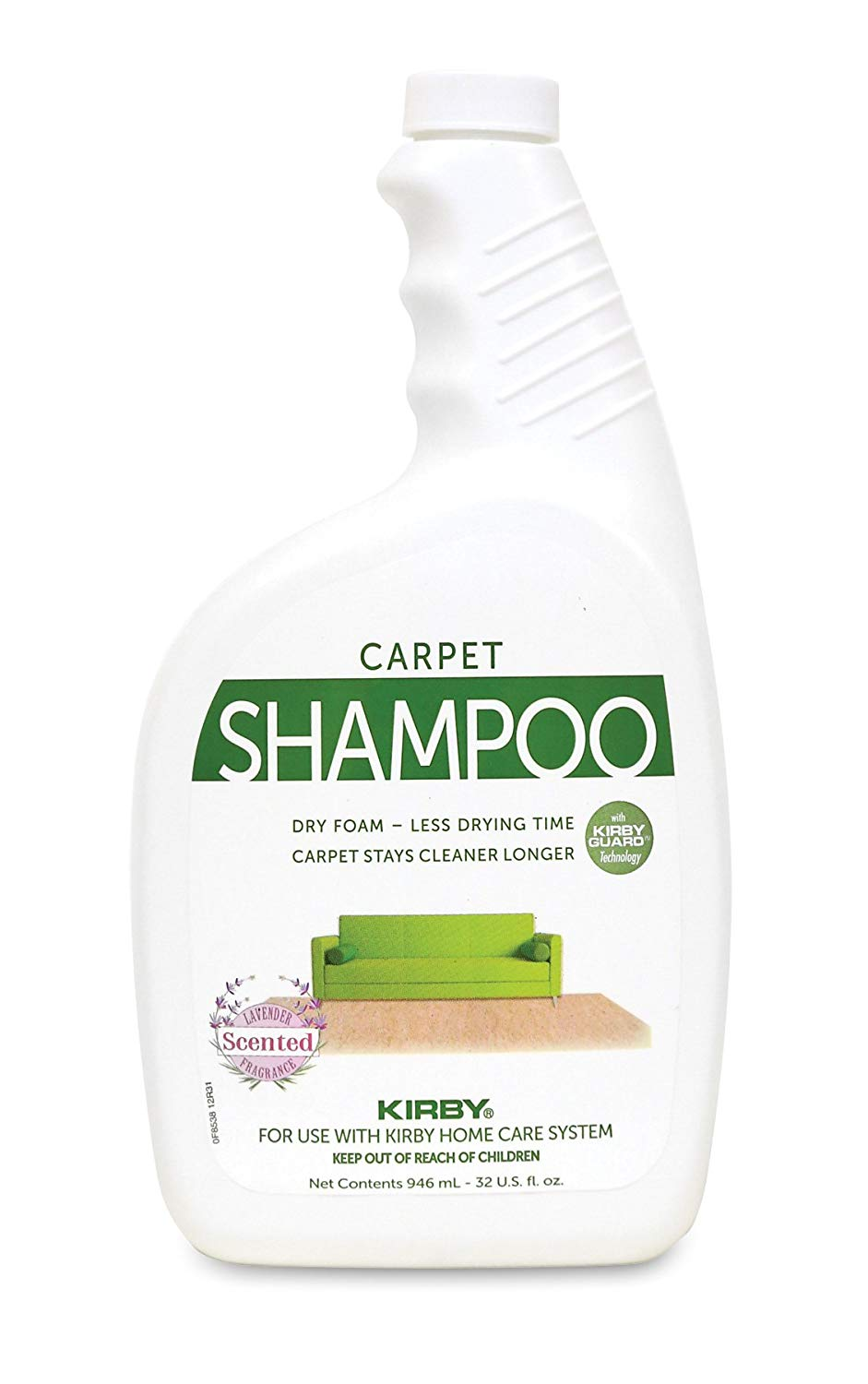 Kirby Shampoo Lavander Scented