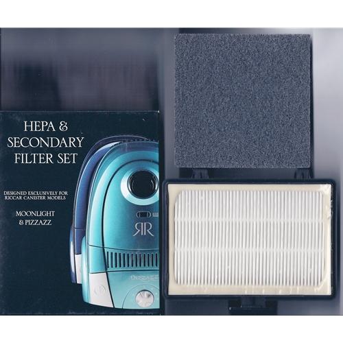 Moonlight & Pizzazz Hepa & Secondary Filter