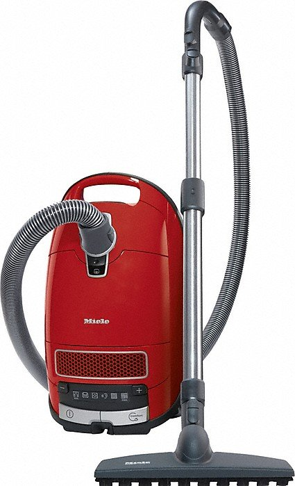 Miele C3 HC Pure Suction Autumn Red