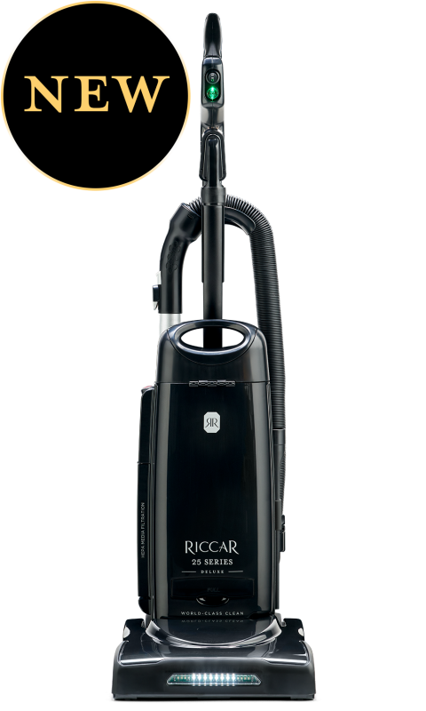 Riccar R25D Deluxe Clean Air Upright Vacuum