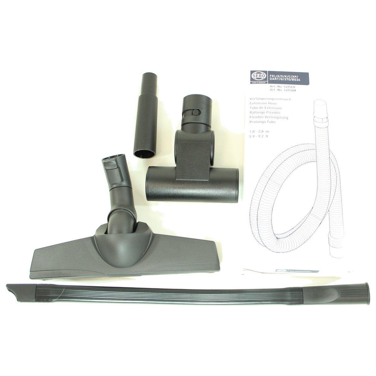 Sebo 5pc Canister Value Tool Pack 1996PK