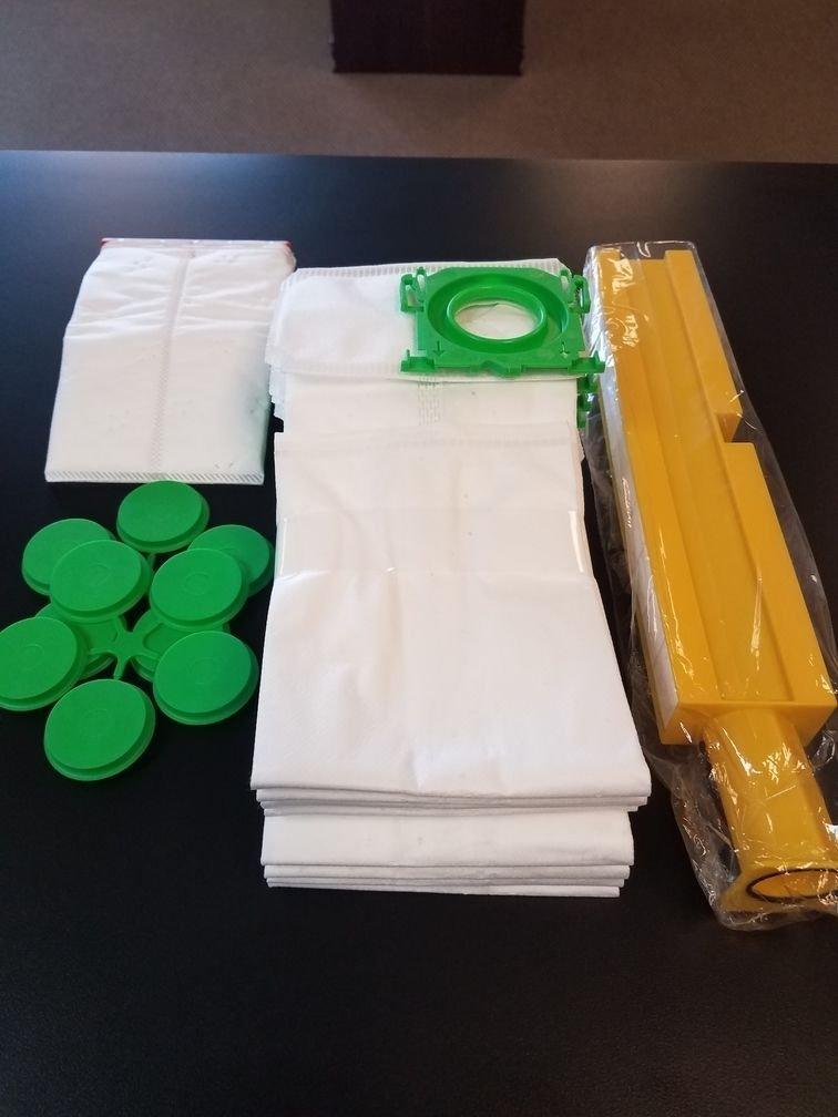 Sebo HEPA Service Box Automatic X7/X8 8 Bags and Hepa Filters 51829ER