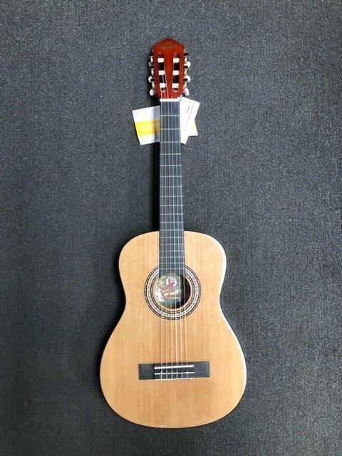Oscar Schmidt 1/2 Size Classic Acoustic Guitar Natural OCHS-A