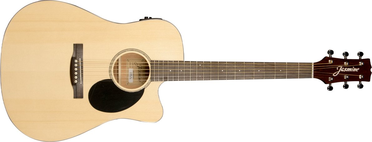 Jasmine JD39CE Acoustic Electric Natural