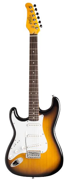 Oscar Schmidt Double Cutaway Lefty Electric Guitar