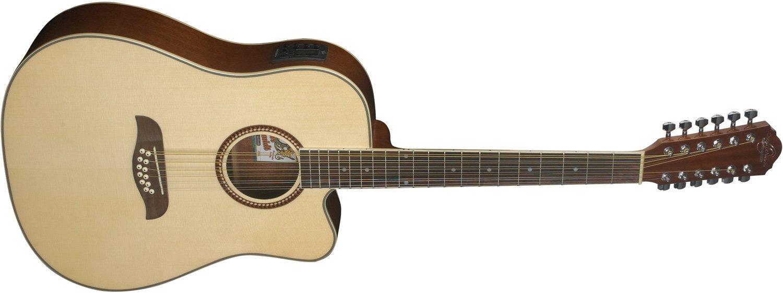 Oscar Schmidt OD312CE-A 12 String Acoustic Guitar - Refurbished