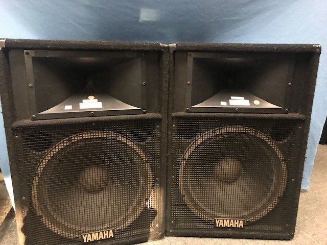 Used Yamaha S115IV PA Speakers PAIR ONLY