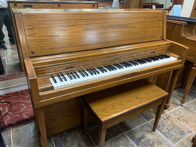 Wurlitzer Studio Dark Oak USED 6297