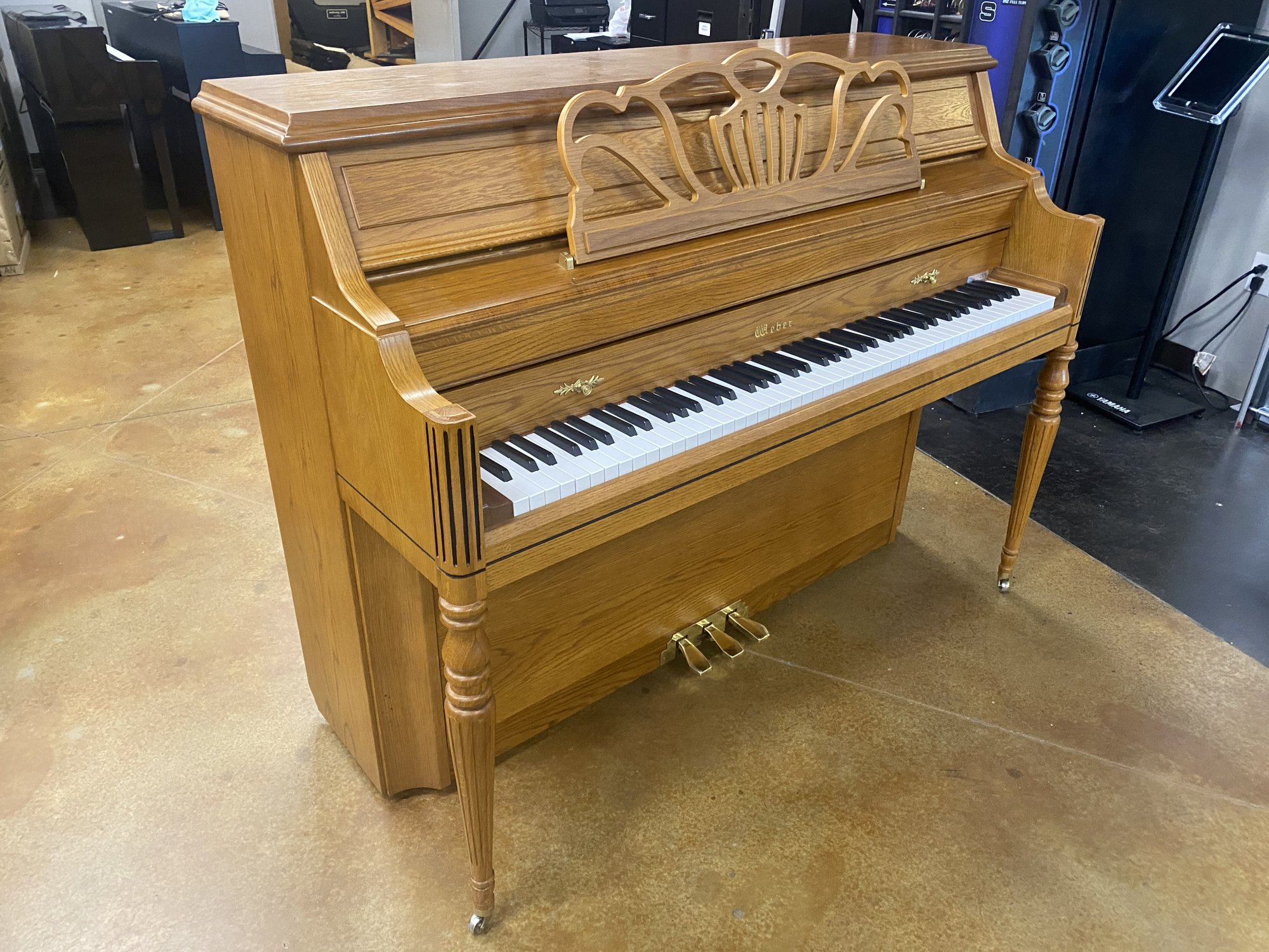 Weber PF-43 Upright Oak USED 4916