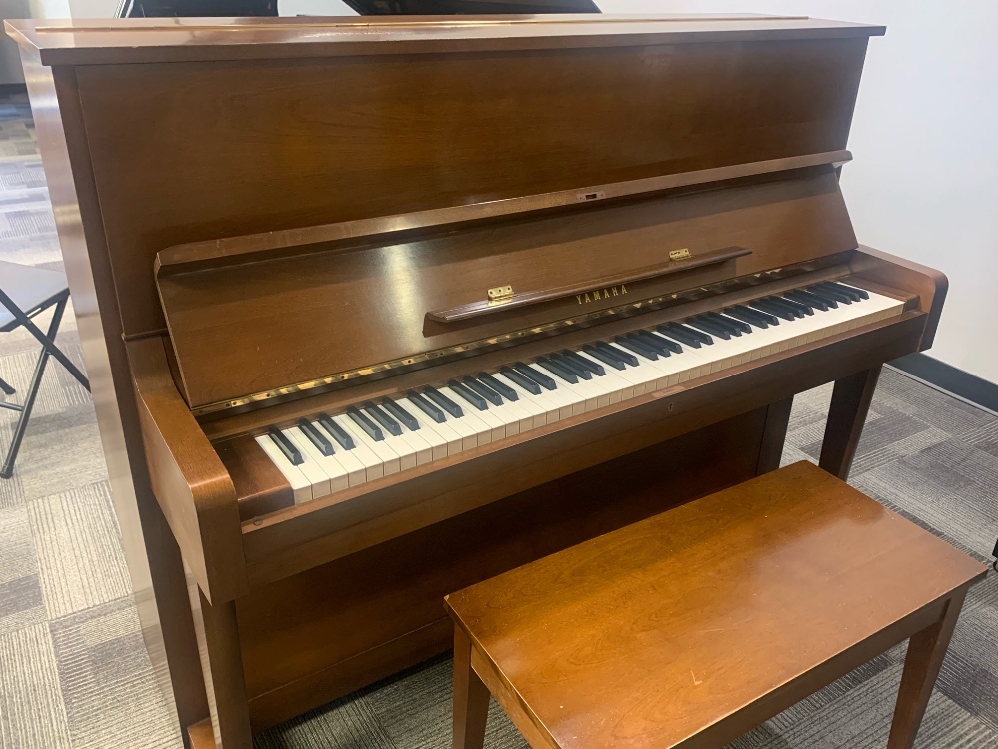 Yamaha U1 Satin Walnut USED 6252
