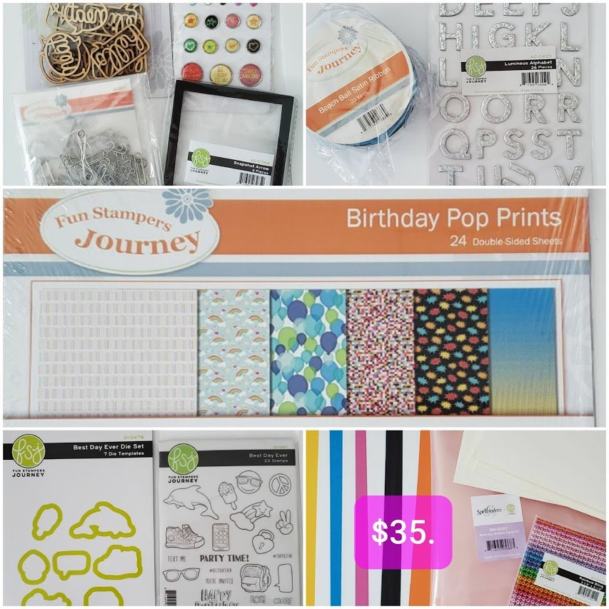 Birthday Wishes Project Kit