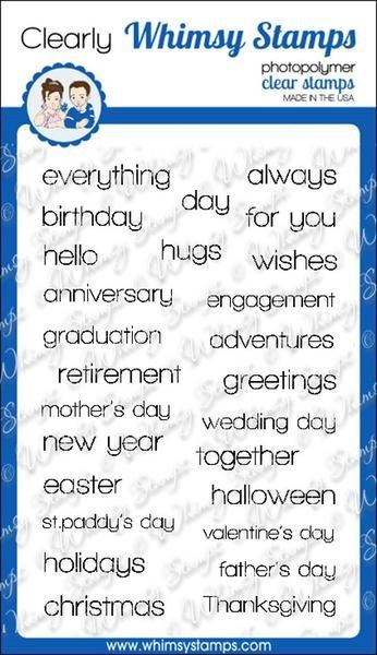 Happy Sayings Stamp Set