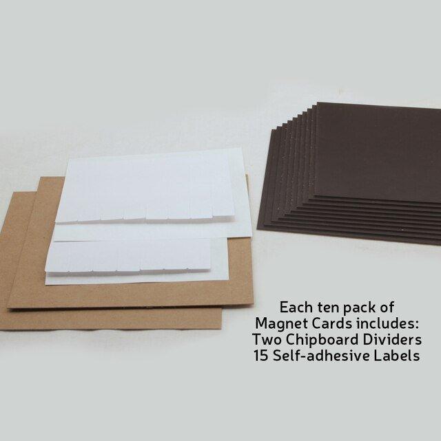 Magnet Cards 8.5x11 5pk