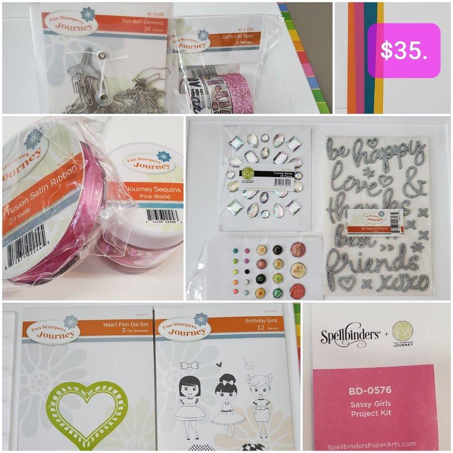 Sassy Girls Project Kit