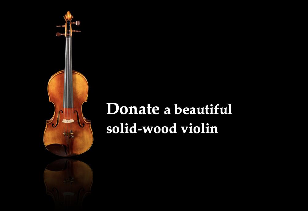 Donate a Violin $500
