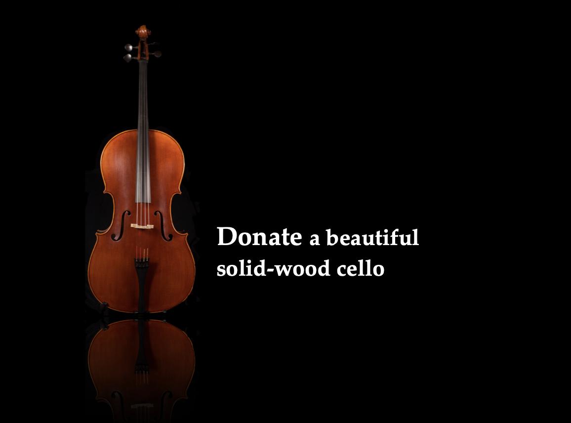 Donate a Cello $1,200