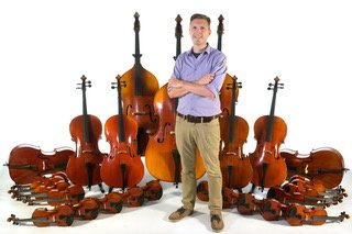 Rent to own or buy now for 20% off. Violins, violas, cellos, and basses of all sizes.