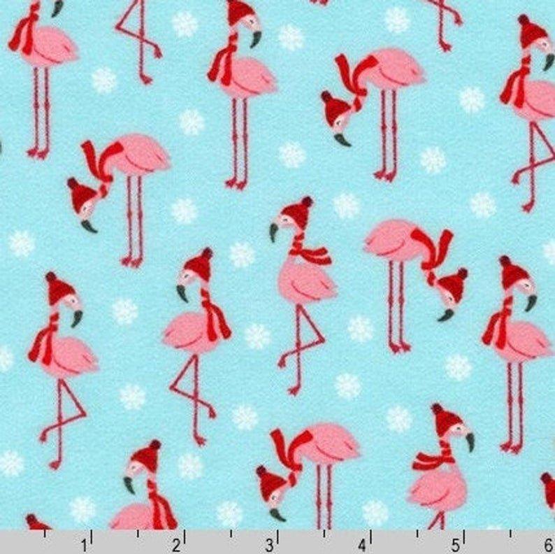 Bundled Buddies Flamingos AQUA