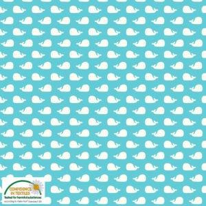 AVALANA Jersey Knit 64 Whales