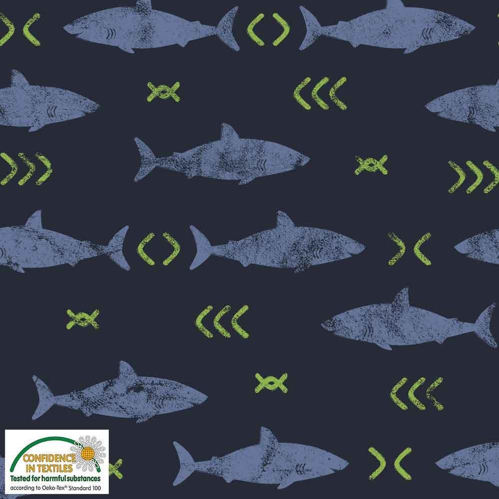 AVALANA Jersey Knit 64 Sharks