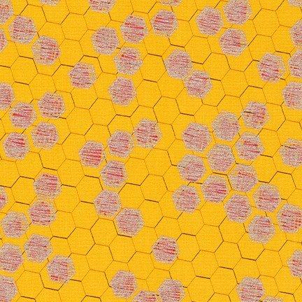 Spring Shimmer Honeycomb MARIGOLD