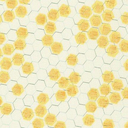 Spring Shimmer Honeycomb VINTAGE WHITE