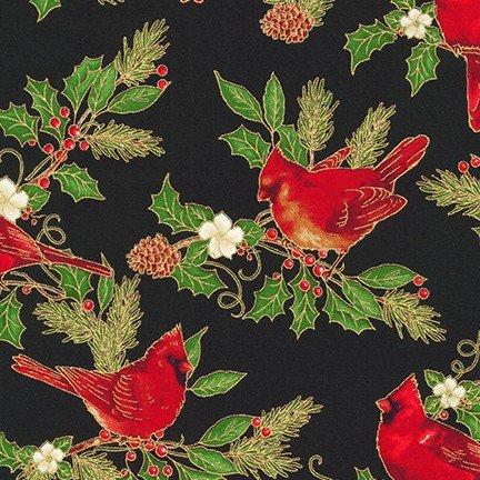 Winter's Grandeur 9 Cardinals BLACK