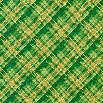 Winter's Grandeur 9 Plaid GREEN
