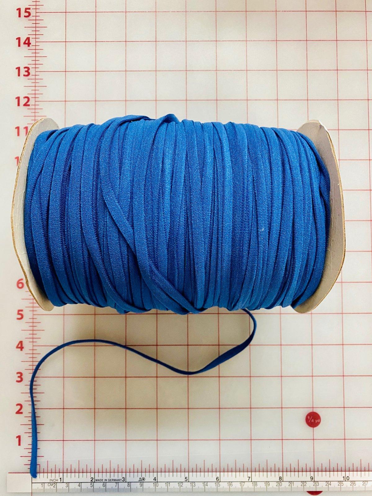 Mask Elastic Cord 3mm BLUE